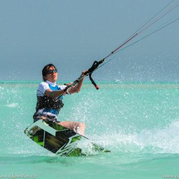 Kite kurzy Egypt, kiteboarding