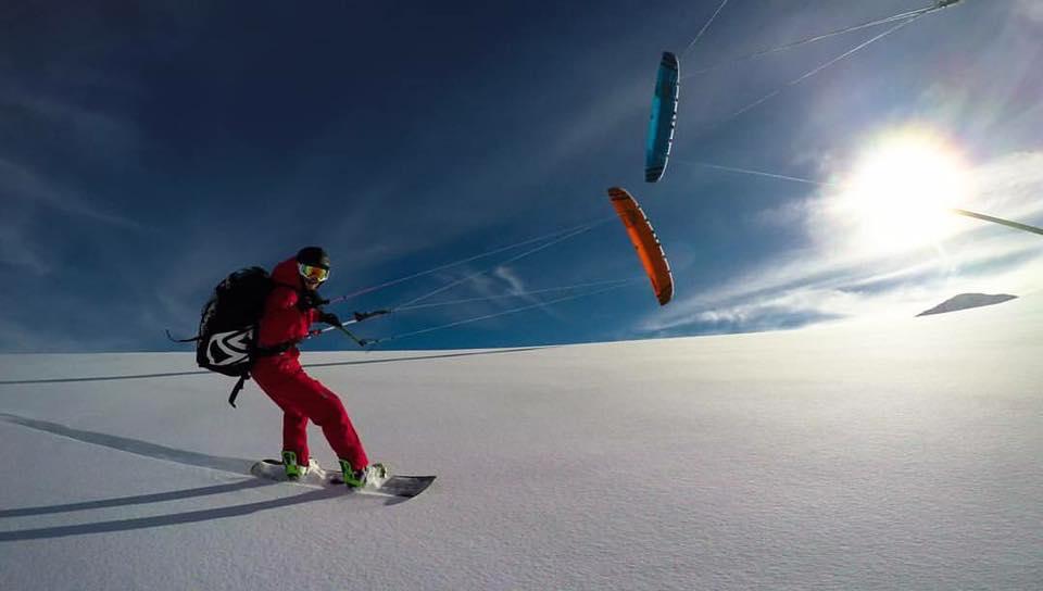 snowkiting, kite kurzy, kiting, kite trip, kite škola, Norsko, snowkiting Norsko